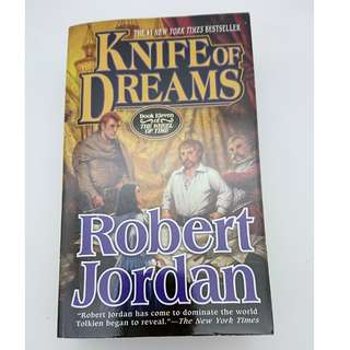 Robert Jordan Knife of Dreams (free delivery)