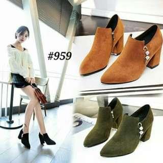 Boots block fashion korea #959