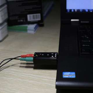 v1: USB Sound Card Audio Adapter PnP for Windows / Mac OS <new classic set>