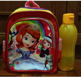 Sofia the First Kids School Bag