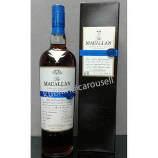 Macallan Easter Elchies Cask Selection 2013 / 麥卡倫單一麥芽威士忌原酒