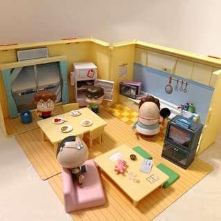我們這一家絕版手提箱玩具屋