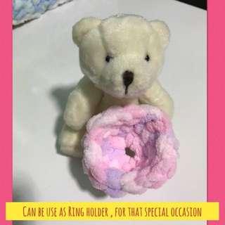 Bear in mind - mini basket / ring holder /basket