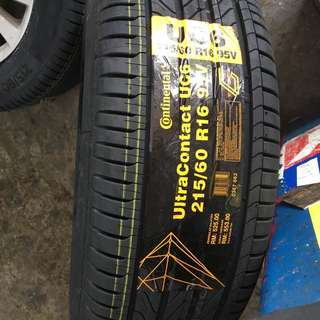 215/60/16 UC6 Continental Tyre