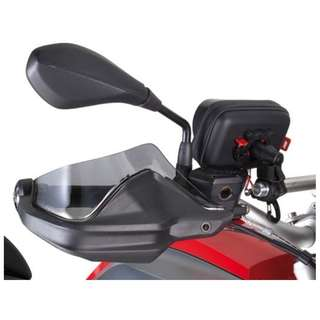 GiVi hand guard extenders (tint) - BMW R1200GS LC, BMW R1200 Adventure LC, BMW F800 Adventure 2013 on, BMW S1000XR