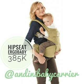 Hipseat Ergobaby Green