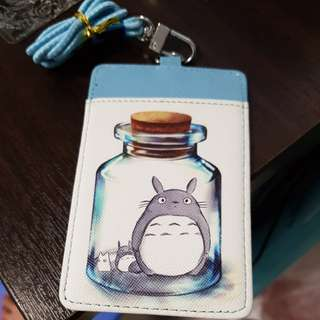 TOTORO Card holder with lanyard NEW