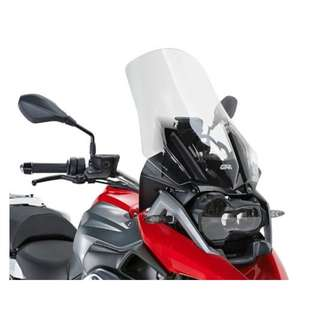 GiVi Highflow screen (clear) - BMW R1200GS LC, BMW R1200 Adventure LC