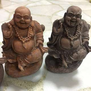 6 inch Laughing Buddha Sculpture 笑佛