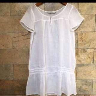 Zara linen dress