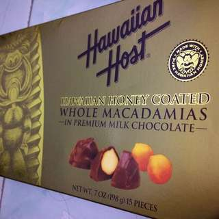 Hawaian Host Chocolate USA