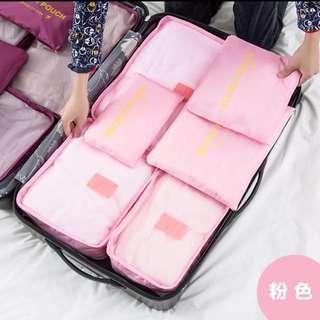 [PO] Travel waterproof storage bag (6 in 1 set)