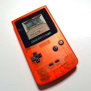 Nintendo Gameboy Color Orange Edition