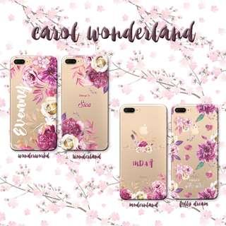 Custom Case Casing HP - Carol Wonderland