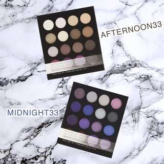 BNIP Bh Cosmetics Afternoon Rendezvous 16 Colour Eyeshadow Palette