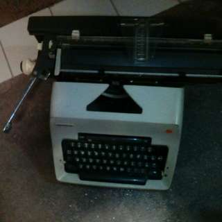 Vintage typewritter olympia