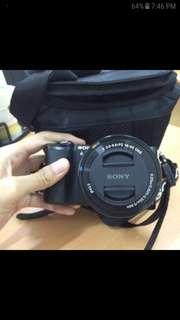 Kamera Mirrorless Sony A5000 Full Set + Aksesori Lengkap