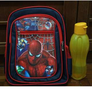 Spider-man Kids School Bag