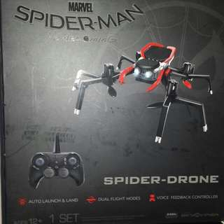 Spiderman exclusive drone