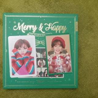 Twice merry and happy 賣換同款卡