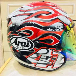 Arai Haga GP Limited Edition Size M