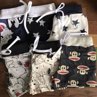 Made in Korea Children Shorts / Pants / Kids Bottom- 3 for $20