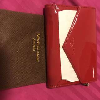 Mitch and Marc Red Wallet