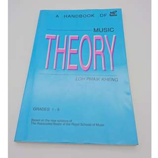 A Handbook of Music Theory (free delivery)