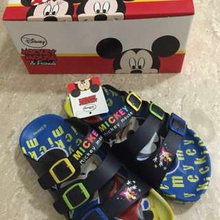 Brand new Mickey Mouse sandals for boys