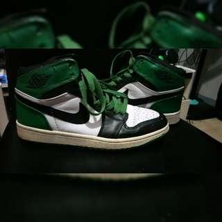 Original Nike Jordan 1 Apr201986 63 Points