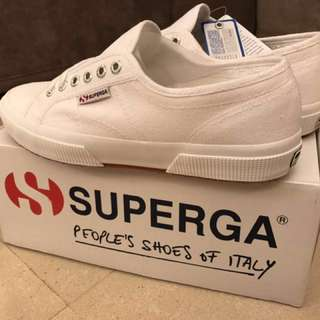 100% Brand New Superga 2750 Cotu Classic White Size 41