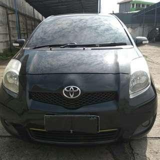 Toyota Yaris E manual 2011 Hitam Metalik