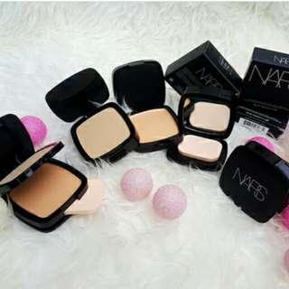 Nars Square Bedak Kotak 2in1 Compact Powder Pressed Compact & Foundation