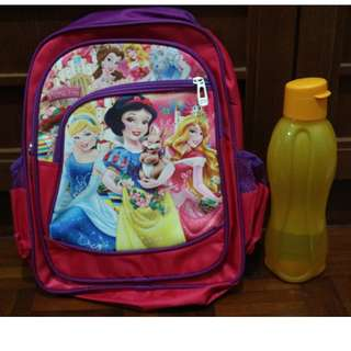 Snow-white Kids School Bag