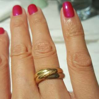 Cartier Trinity Ring 18K (size 48)