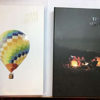 BTS/防彈少年團 花樣年華Young forever韓版(每隻$55)