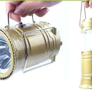 🚚 6LED多功能太陽能露營燈