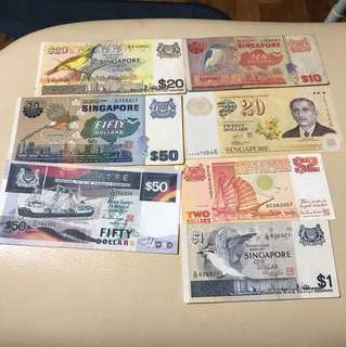 Old notes for those who likes collecting old money