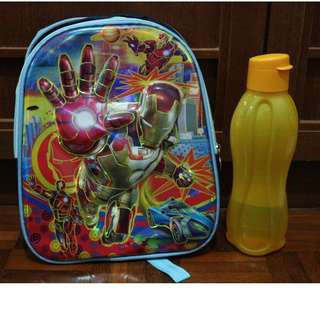 Iron-man Kids School Bag