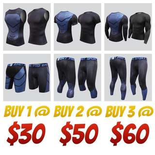 HyperLight Compression Tights wear