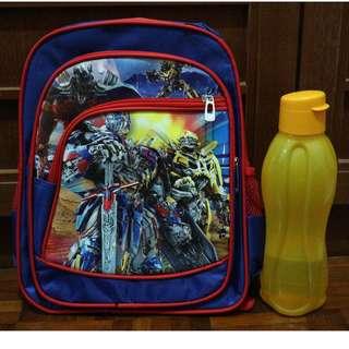 Transformers Kids School Bag