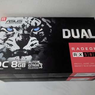 Brand new unopened Asus OC RX580 8gig