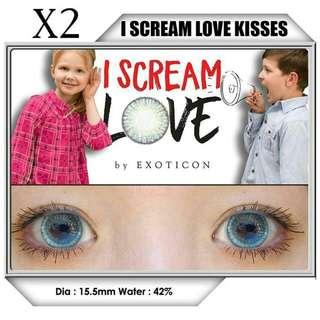 Softlens X2 I SCREAM LOVE KISSES