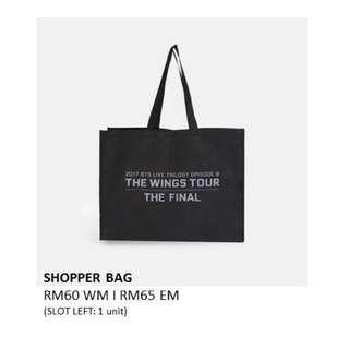 BTS SHOPPER BAG [THE WINGS TOUR THE FINAL]
