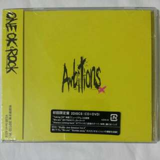 [Music Empire] One OK Rock - Ambitions CD + DVD Album