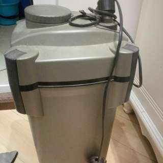 濾水器 魚缸 筒形