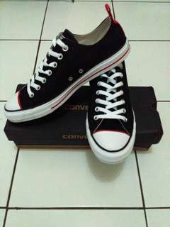 converse ct ox black red