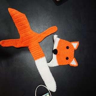 Baby Fox Shooting Costume