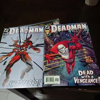 Deadman #1&2 DC Comics 2002