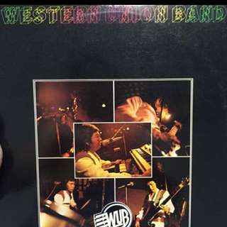 Western union band vinyl record